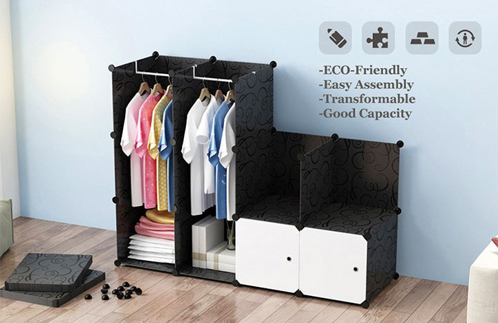 Top 10 Best Portable Clothes Storage Cubes of 2018 Review
