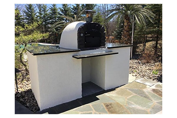 Brick Pizza Oven, Insulated, Wood Fired
