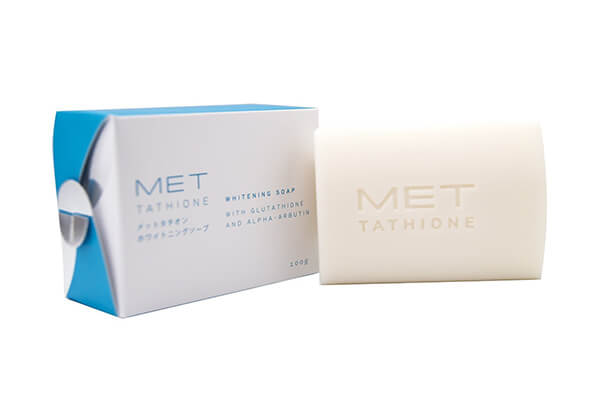 Met Tathione Whitening Soap With Glutathione and Alpha-Arbutin - 100g