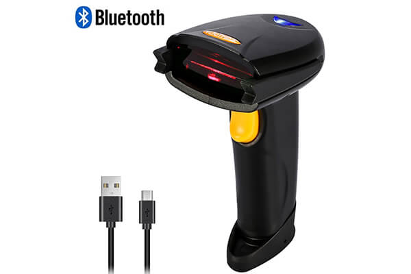 YOUTHINK Wireless Bluetooth 4.0 & USB 3.0 Wired Barcode Scanner