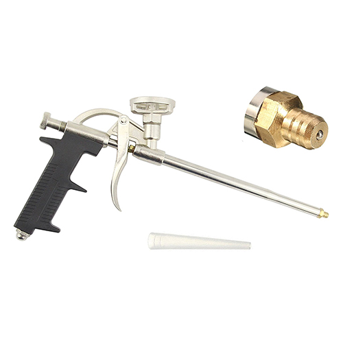 5. YXGOOD Caulking Gun, Industrial Metal Body Foam Spray Gun Caulk Gun