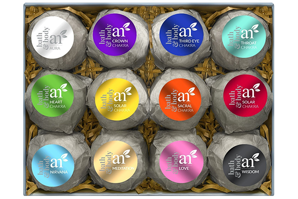 ArtNaturals Bath Bomb Gift Set – 12 x 4 Oz – Handmade Essential Oil Spa Bomb Fizzies – For Relaxation, Moisturizing and Fun for All Ages