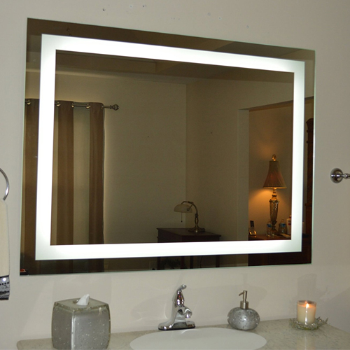3. Wall Mounted Lighted Vanity Mirror