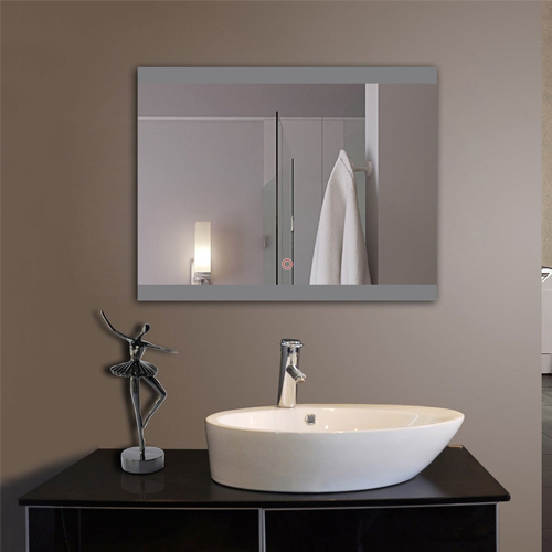 Top 10 best lighted vanity mirrors of all time reviews any top 10 horizontal led wall mounted lighted vanity bathroom silvered mirror aloadofball Image collections