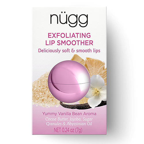 7.nügg natural LIP SCRUB and LIP EXFOLIATOR for chapped, dry and normal lips