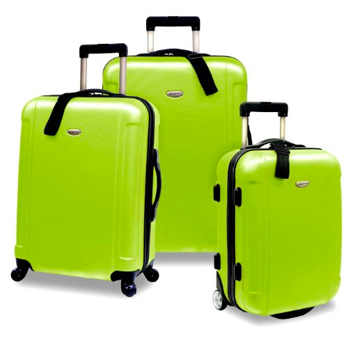 "US Traveler's Choice Freedom 3-Piece Lightweight Luggage Set (20""/25""/29"")"