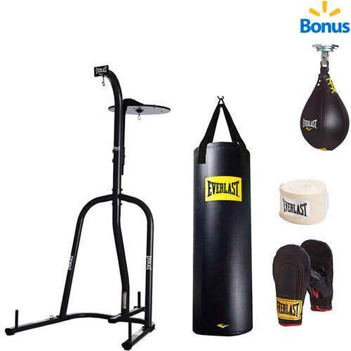 Everlast Dual Station Heavy Bag Stand
