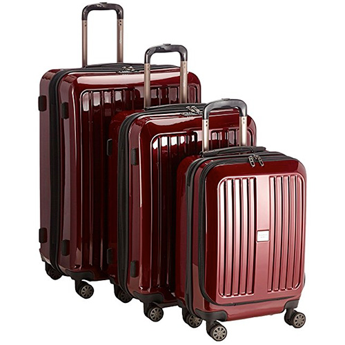 HAUPTSTADTKOFFER – X-Berg - Set of 3 Hard-side Luggages matt Suitcase Hardside Spinner Trolley Expandable