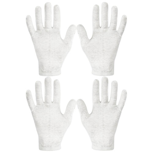 Eurow Cotton Cosmetic Moisturizing Therapeutic Gloves