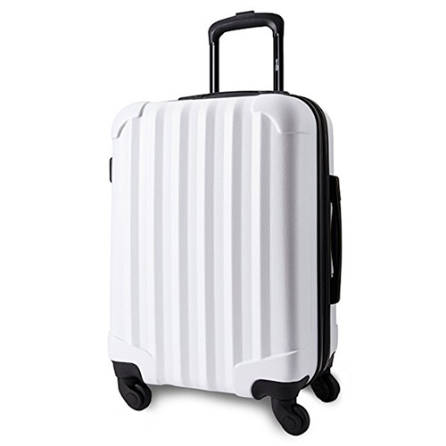 "Genius Pack 21"" Aerial Hardside Carry On Luggage Spinner"