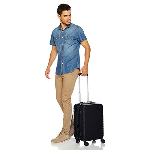 AmazonBasics Hardside Spinner Luggage