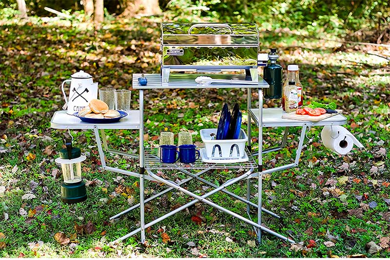 Top 10 Most Affordable Folding Tables for Camping of 2018 Review