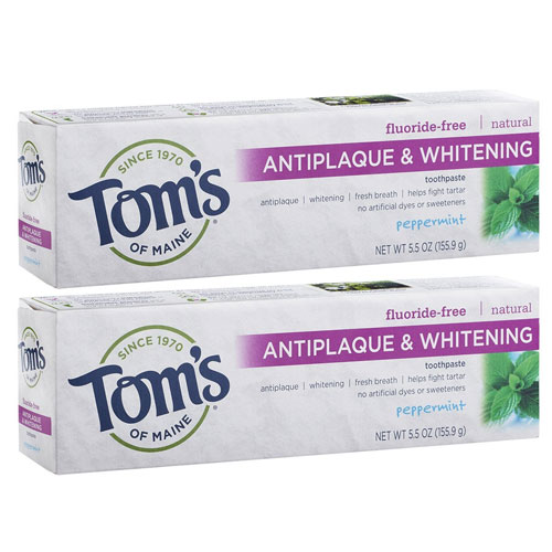Tom's Of Maine Anti-plaque and Whitening Toothpaste
