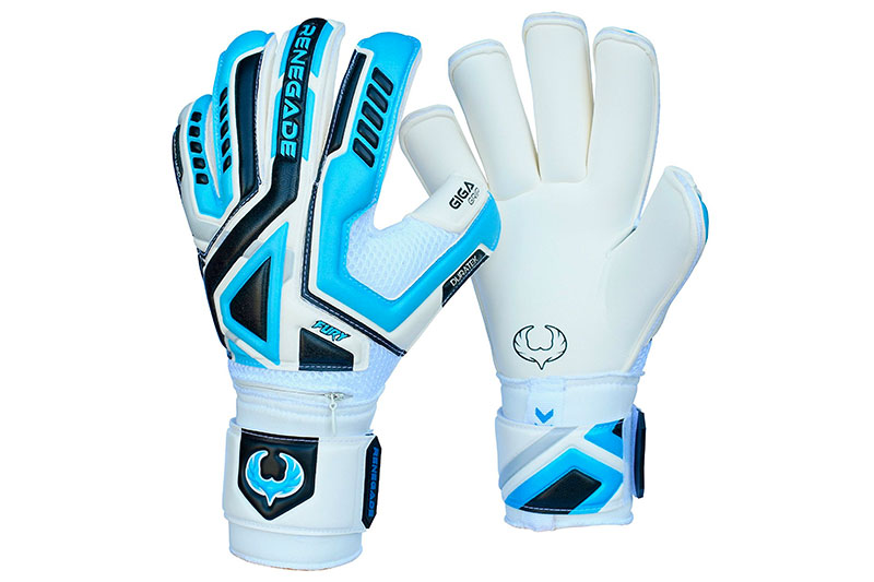 Renegade GK Fury Goalkeeper Gloves With Removable Pro Fingersaves