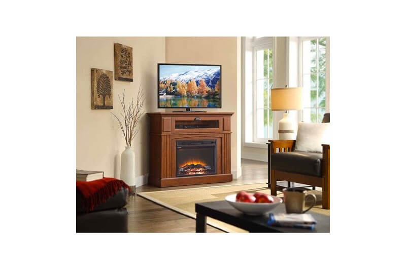 Top 10 Best Corner Electric Fireplace TV Stand of (2021) Review