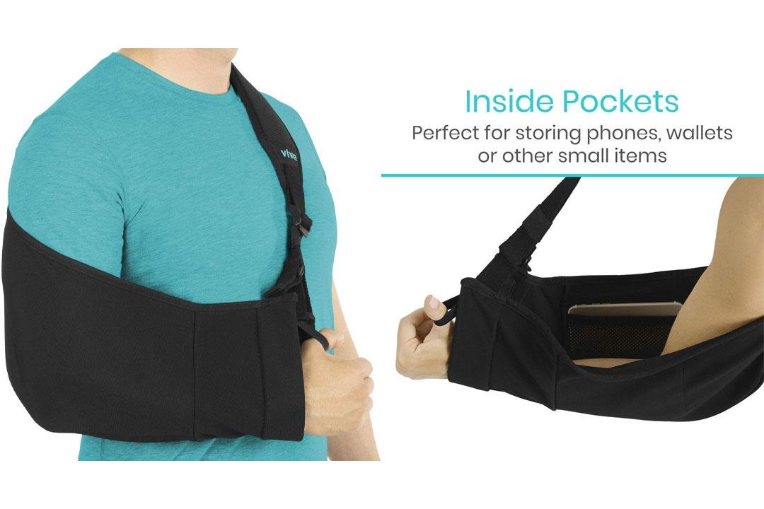 Arm Sling by Vive - Medical Sling for Broken & Fractured Bones