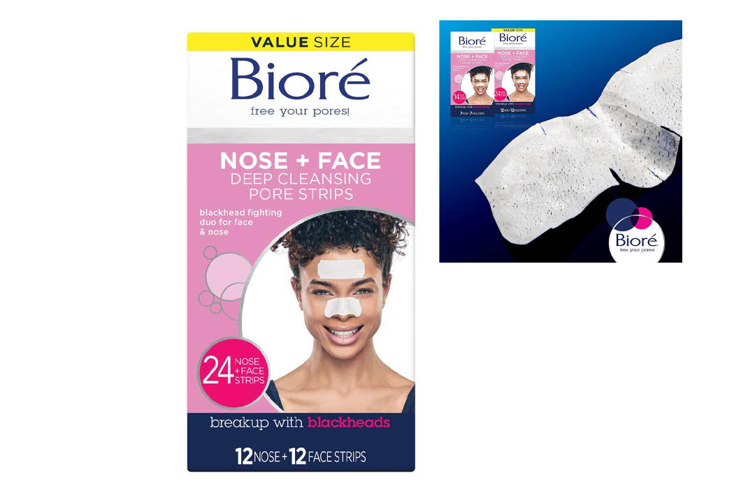 Biore Deep Cleansing Pore Stripes 24 Count
