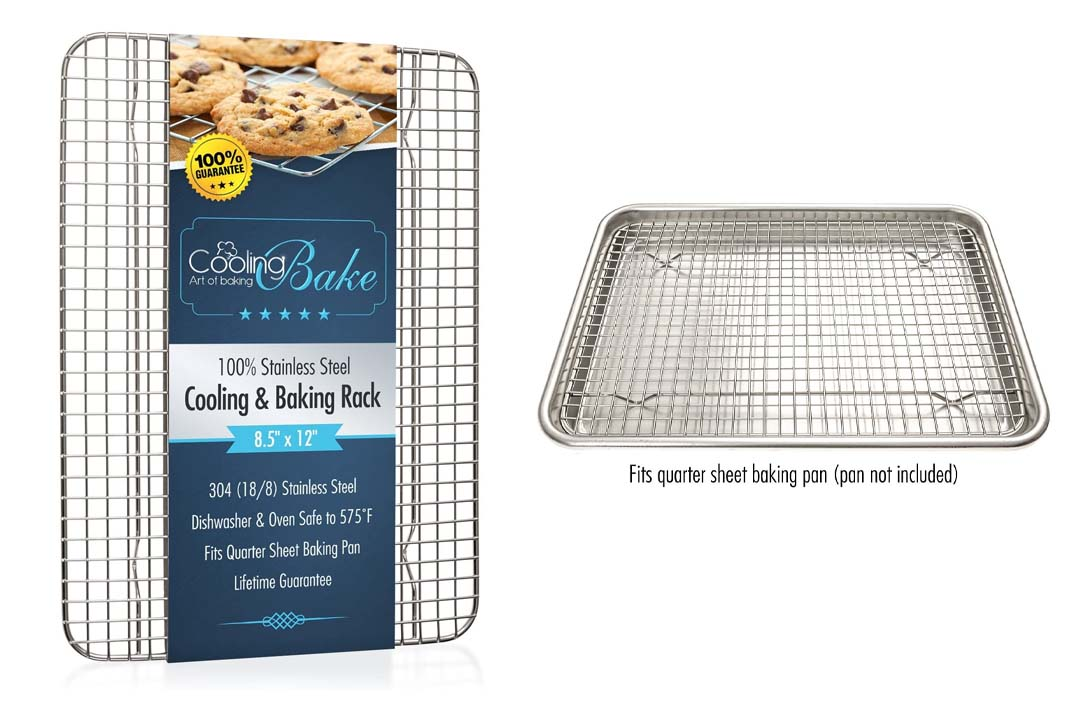 CoolingBake 304 Stainless Steel Wire Cooling Rack