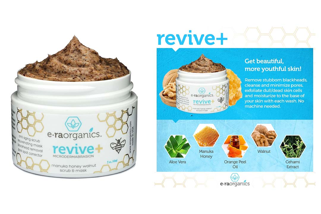 Era Organics Microdermabrasion Face Scrub and Facial Mask in One