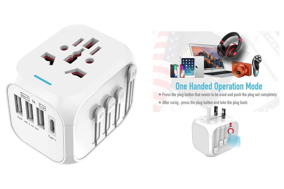 International Travel Adapter Universal Power Adapter
