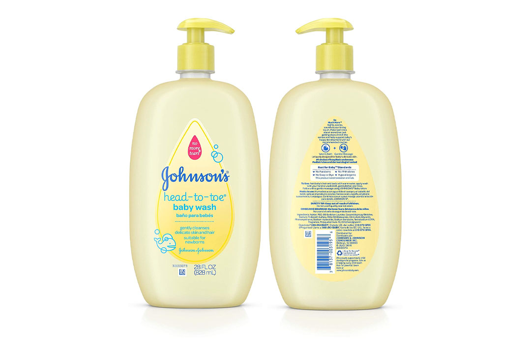 Johnson's Head-To-Toe Gentle Baby Wash