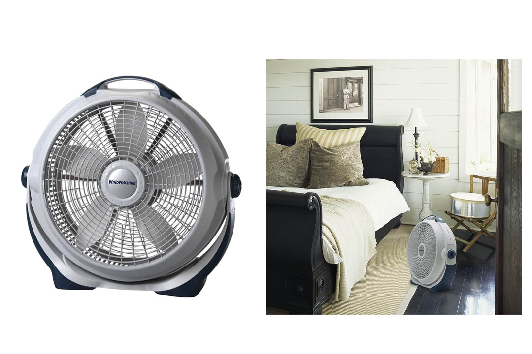 Lasko 3300 20″ Wind Machine Fan With 3 Energy-Efficient Speeds