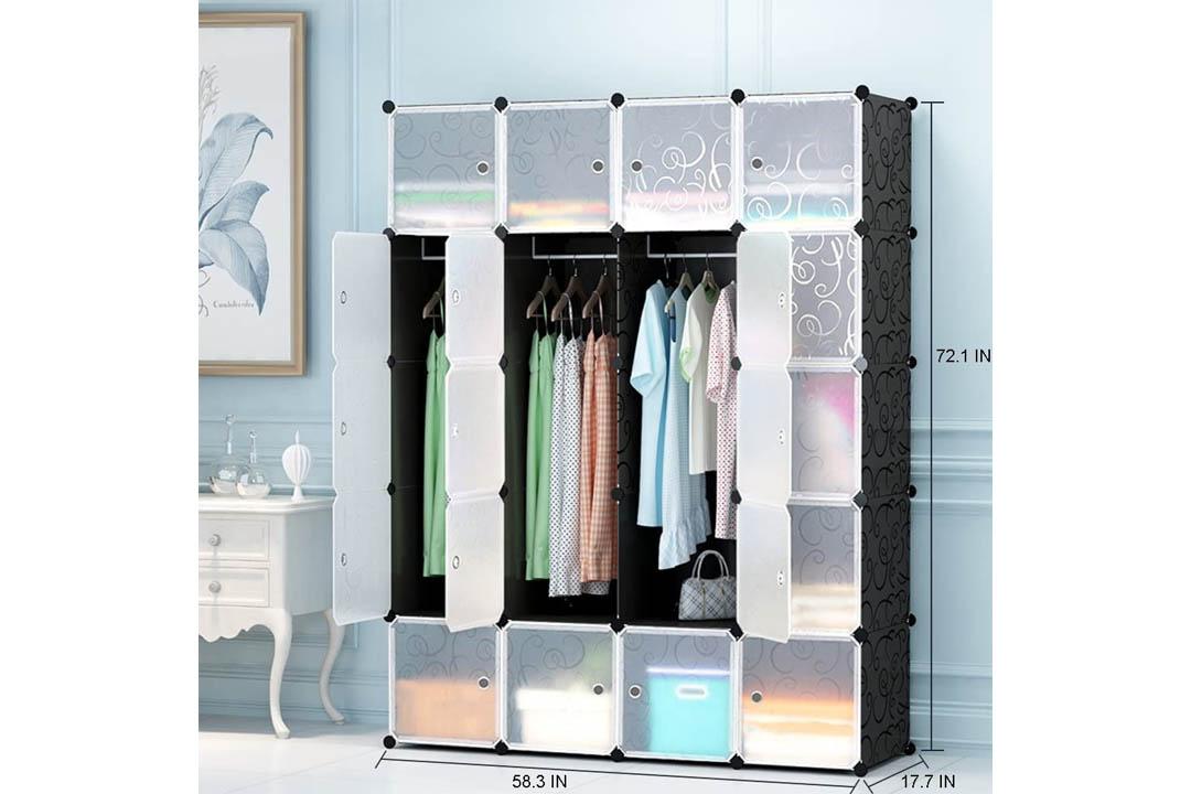 MEGAFUTURE Portable Clothes Storage Cubes
