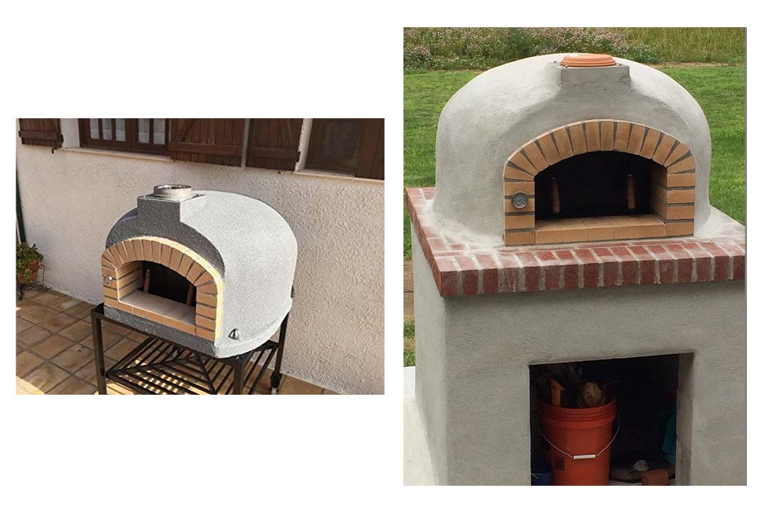 Outdoor Pizza Oven, Wood Fired, Insulated