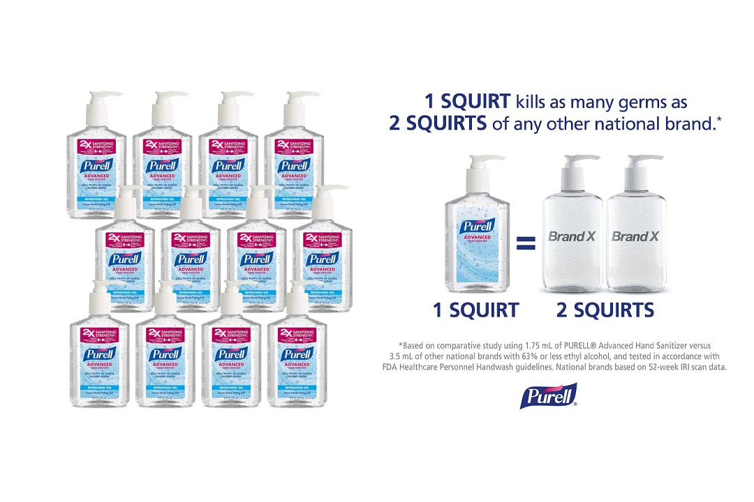 PURELL 9652 Advanced Instant Hand Sanitizer