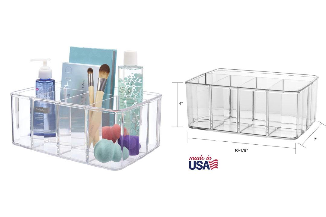 Premium Quality Plastic Vanity Organizer