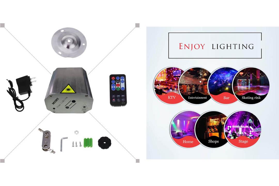Sbolight Led Party Lights DJ Disco Stage Lights