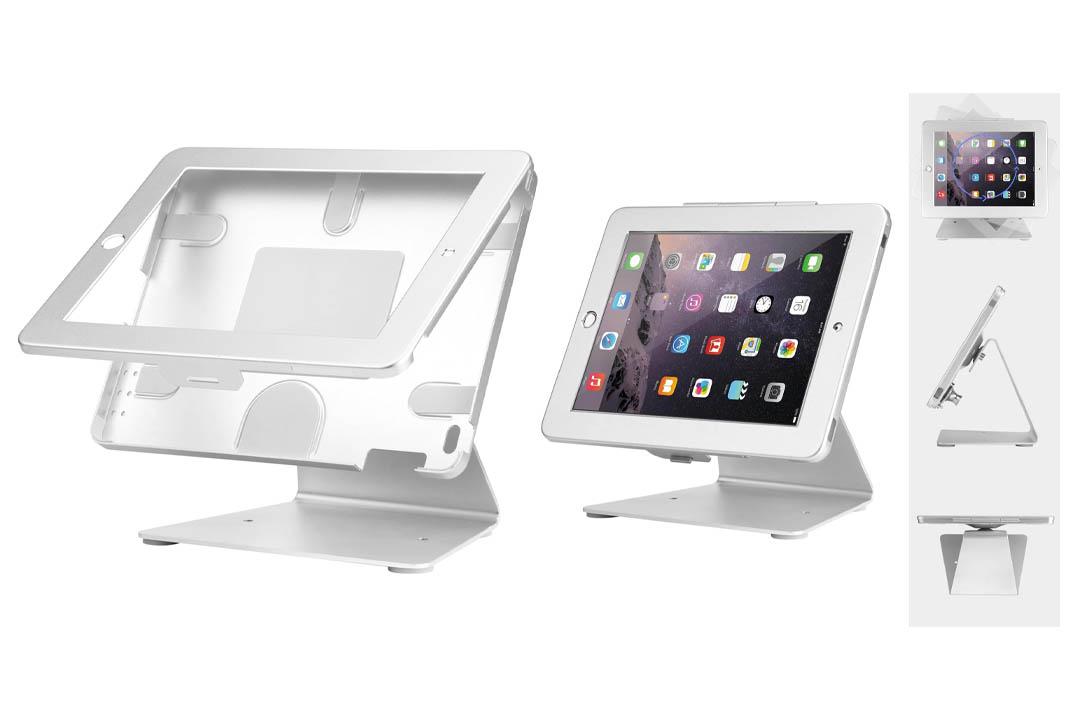 Smonet iPad Desktop Anti-Theft Security POS Stand Holder Enclosure