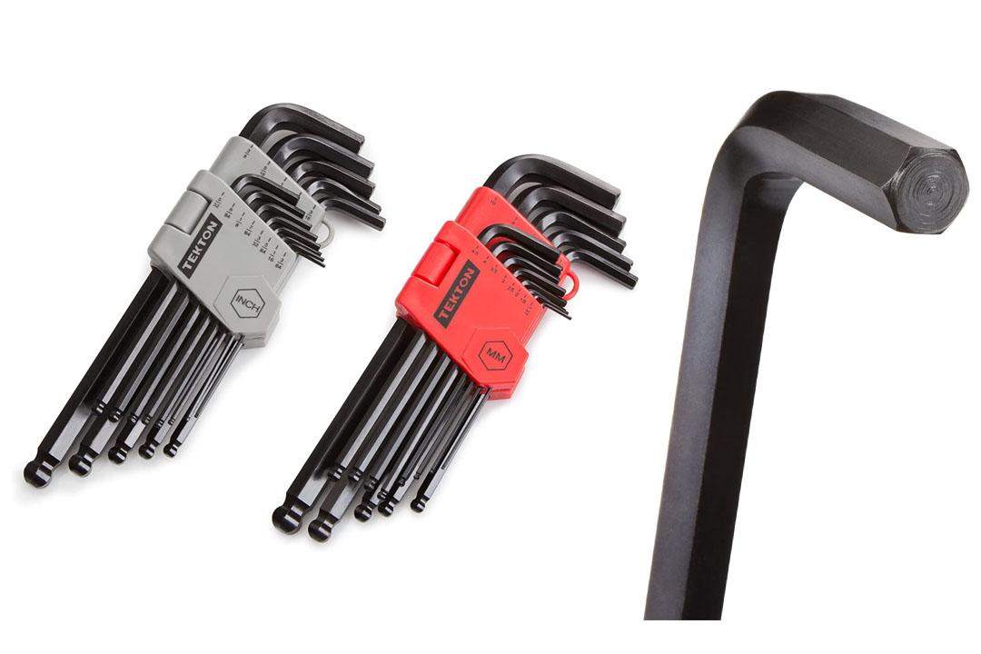 TEKTON 25282 26-pc. Long Arm Ball End Hex Key Wrench Set