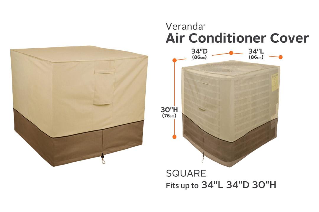Veranda ac Cover, Square