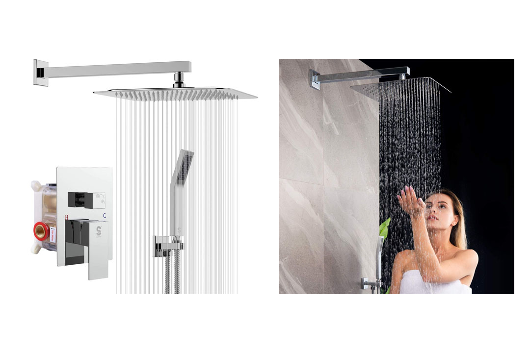 Wall Mounted Rainfall Shower System