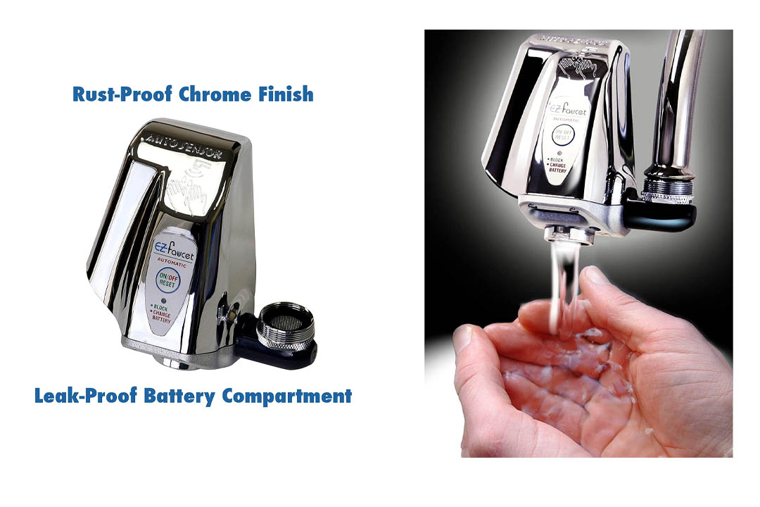 iTouchless EZ Faucet PRO Automatic Touch