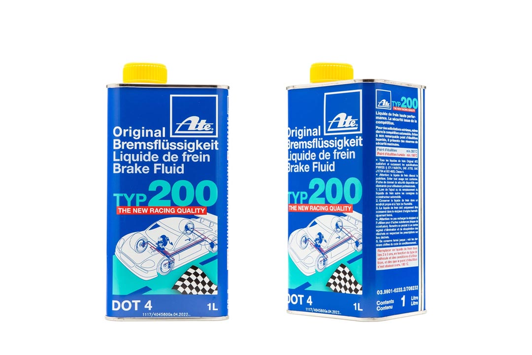 ATE Original Brake Fluid DOT 4 TYP 200 / TYP200 (High Boiling Point) 6 Liter
