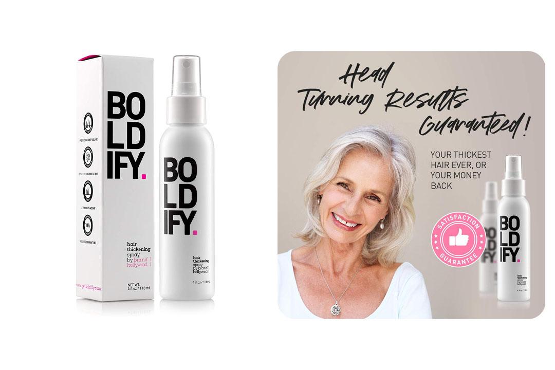 BOLDIFY Hair Thickening Spray