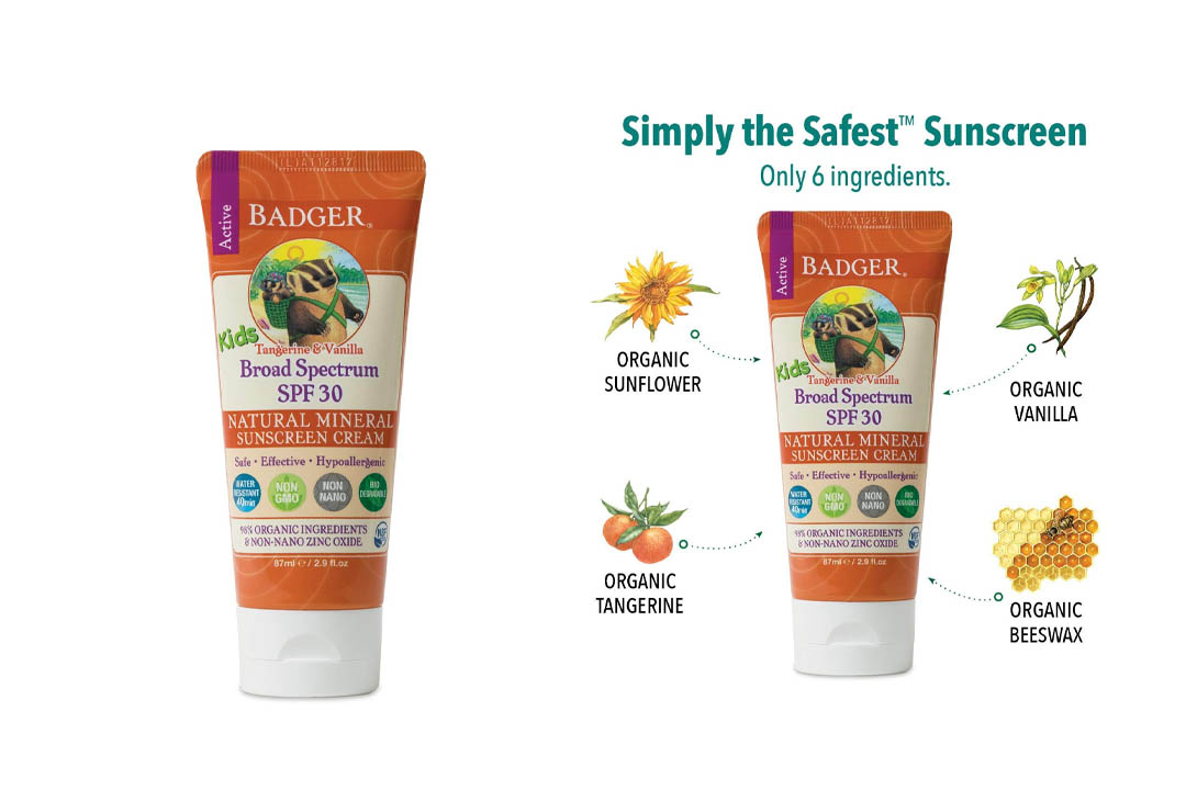 Badger Balm SPF 30 Kids Sunscreen Cream