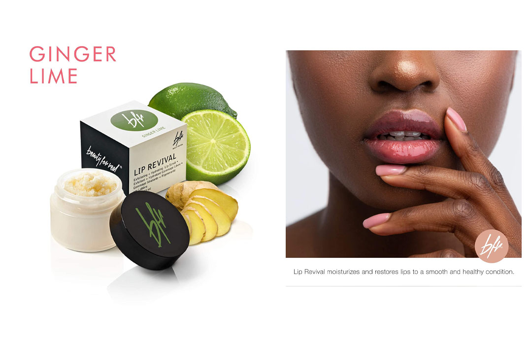 Beauty For Real Lip Revival Exfoliating and Hydrating Lip Scrub