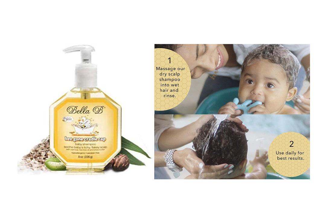 Bella B Bee Gone Cradle Cap Baby Shampoo
