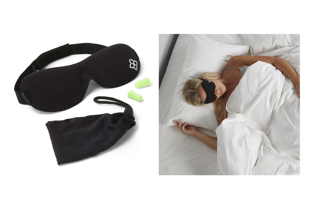 Black Sleep Mask by Bedtime Bliss Eye Mask