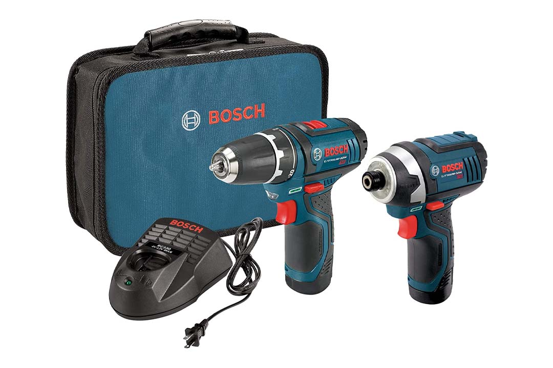 Bosch CLPK22-120 12-Volt Lithium-Ion 2-Tool Combo Kit
