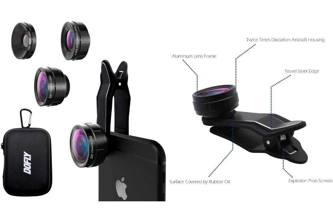 DOFLY Universal Professional HD Camera Lens Kit