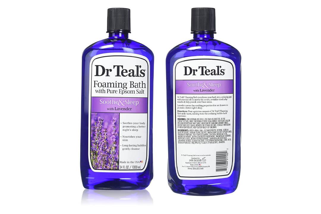 Dr. Teal's Foaming Bath, Lavender