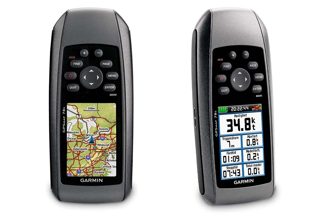 Garmin GPSMAP 78S Marine GPS Navigator and World Wide Chartplotter