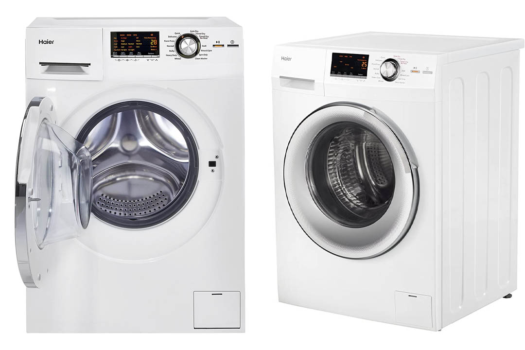 Haier HLC1700AXW Compact Laundry Combo Washer/Dryer