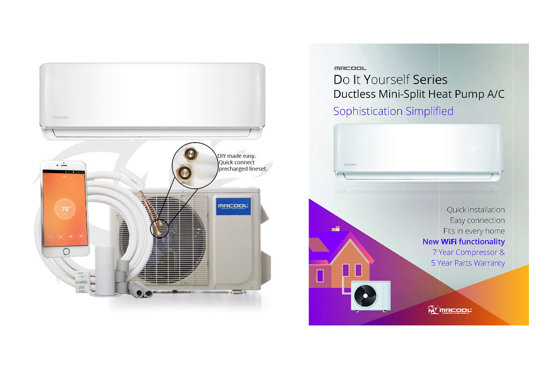 MRCOOL DIY 12K BTU 17.5 SEER Mini-Split Heat Pump w/ WiFi