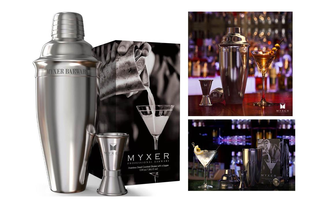 MYXER Cocktail Shaker Set 24