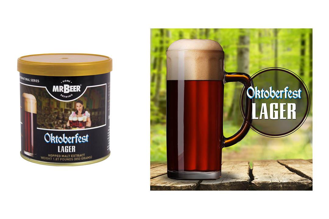 Mr. Beer Oktoberfest Lager Home Brewing Craft Beer Refill Kit